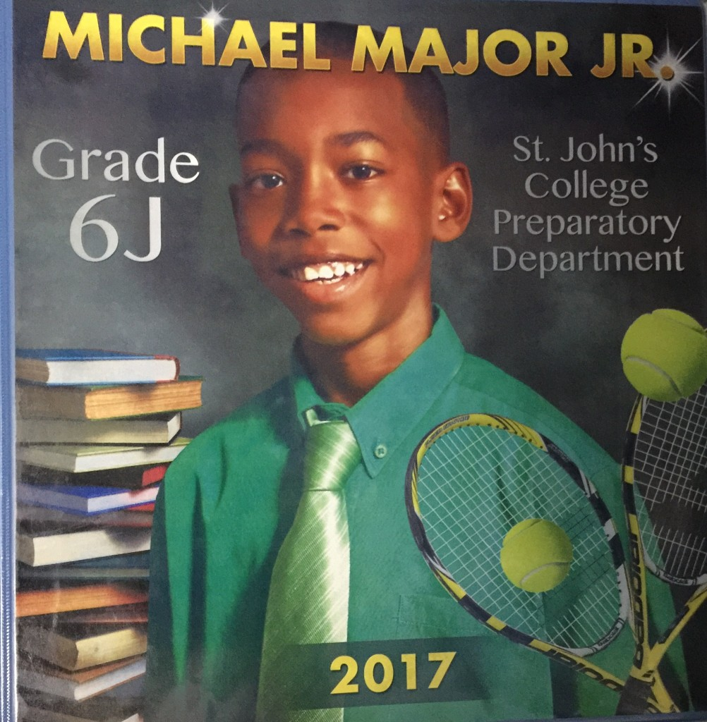 MJ 2017 Student of The Year Portfolio